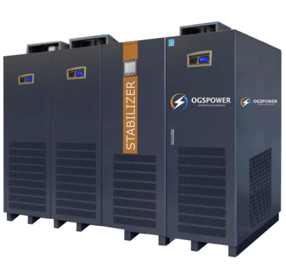 THREE PHASE 8-4000KVA FULLY AUTOMATIC STATIC VOLTAGE STABILIZER